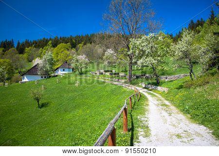 Village Kaliste, Slovakia