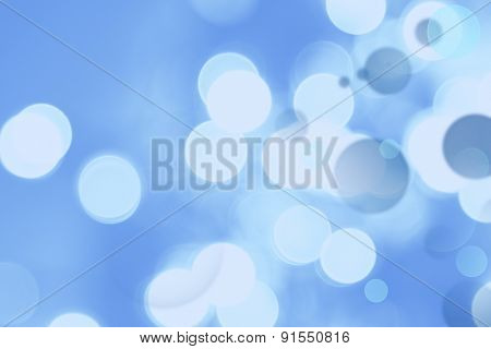 Abstract blue circles background