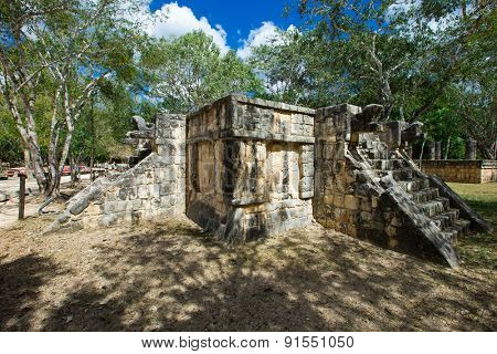 Mayan pyramid in Chichen Itza - Mexico