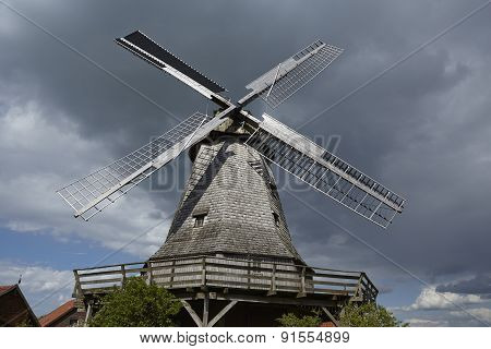 Windmill Messlingen (petershagen, Germany)