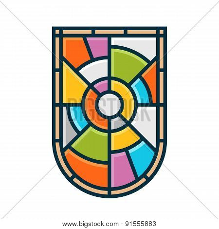 Stained Glass Shield