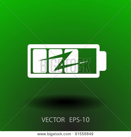 flat battery icon