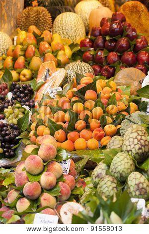 Fruits at the market