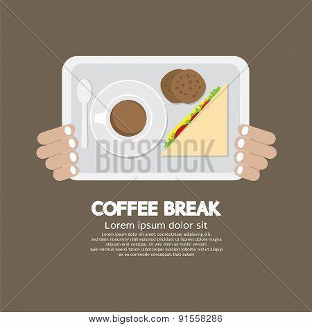 Coffee Break Food And Beverage.