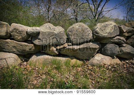 Stone fence Massachusetts