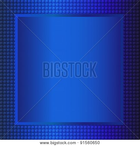 Blue Embossing Metallic Background