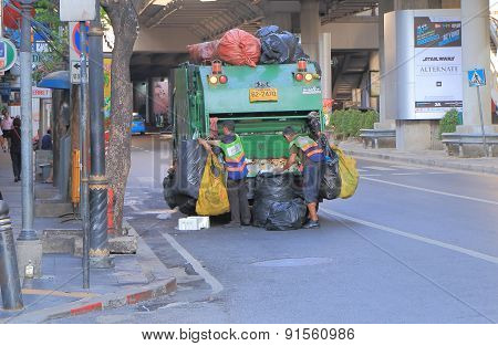 Garbage cleaner Bangkok