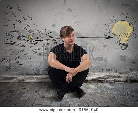Boy creates a great idea