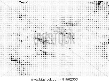 Vector halftone dots abstract background.