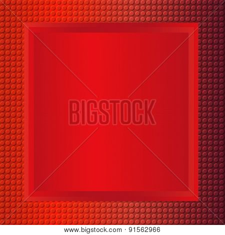 Red Embossing Metallic Background