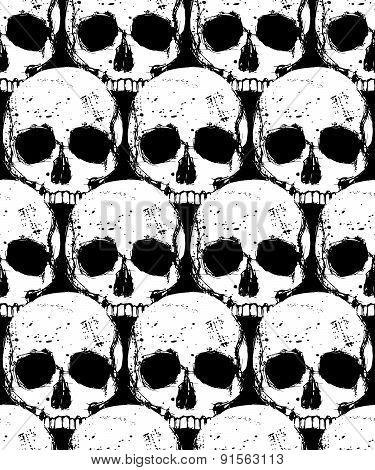 Death Seamless Pattern