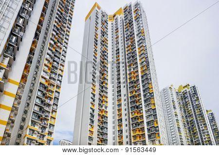 Hong Kong residential buildings