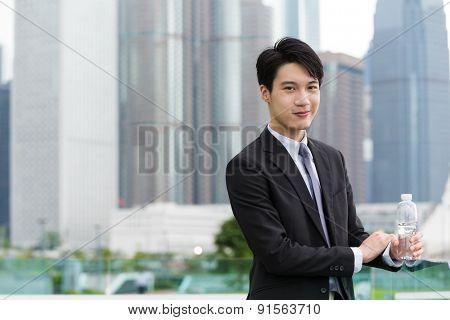 Hong Kong businessman at outdoor