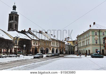 Kutna Hora Town in Winter