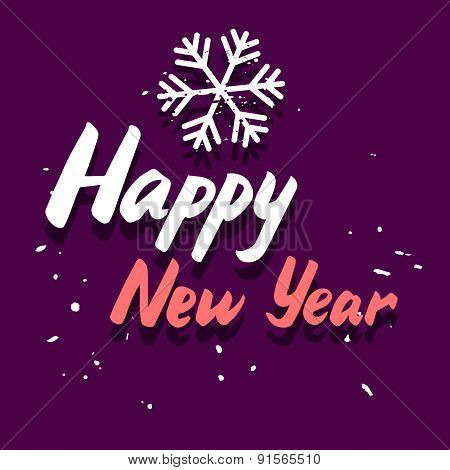Happy New Year Graphic Card