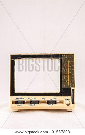 Old Plastic Televison