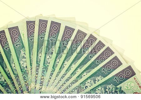 Money in a polish currency