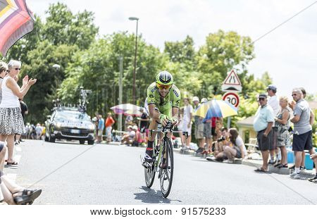 The Cyclist Marco Marcato - Tour De France 2014
