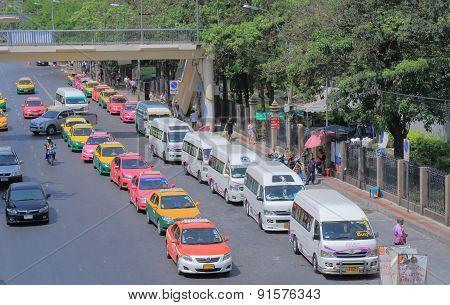 Thailand taxi mini bus