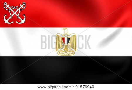 Naval Ensign Of The Egypt