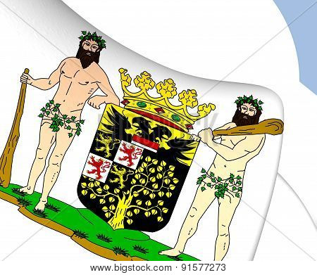 's-hertogenbosch Coat Of Arms, Netherlands.