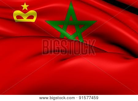 Civil Ensign Of The Morocco