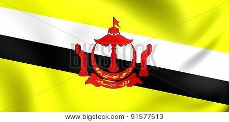 Flag Of The Brunei