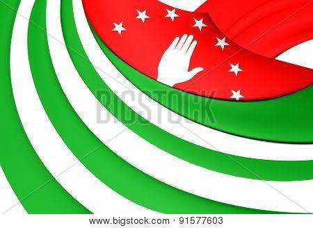 Flag Of The Abkhazia