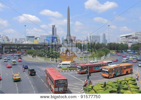 Thailand Bangkok trafic