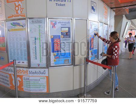 Commuter Bangkok Thailand