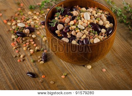 Beans, Chickpeas  And Lentils