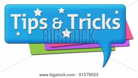 Tips And Tricks Colorful Comment Symbol
