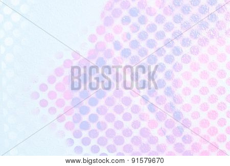 Colored Paint Dots - Abstract Pop Background
