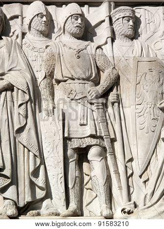 Medieval Crusade Knights