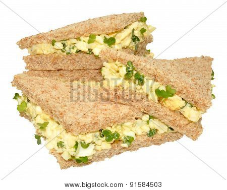 Egg And Cress Sandwiches