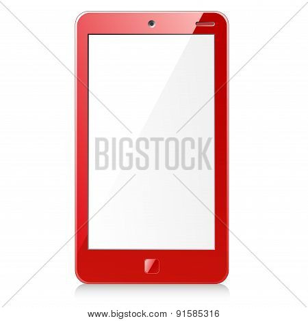 New red smartphone