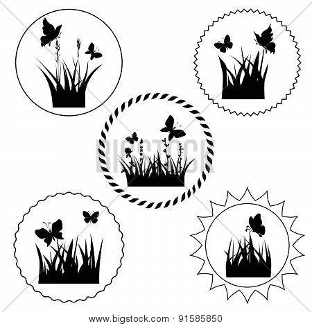 grass label