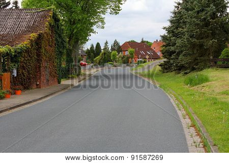 The Street In A Small Town