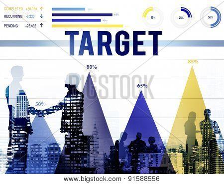 Target Goal Vision Aspiration Success Inspiration Concept