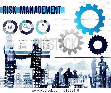 Risk Management Dangerous Safety Security Concept