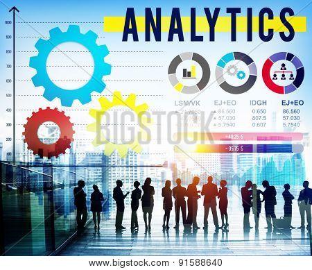 Analytics Analysis Big Data Business Corporate Concept