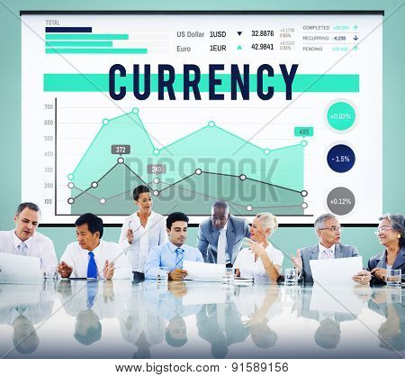 Currency Finance Money Marketing Business Concept