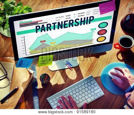 Partnership Team Corporate Collaboration Connection Concept