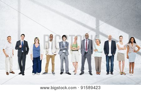 Business People Team Connection Togetherness Concept