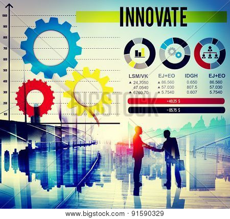 Innovate Motivation Strategy Invention Mission Concept