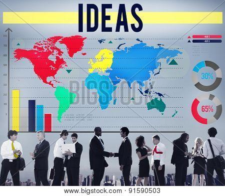 Ideas Inspiration Creativity Plan Vision Concept