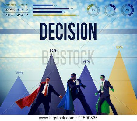 Decision Choice Chance Change Development Concept