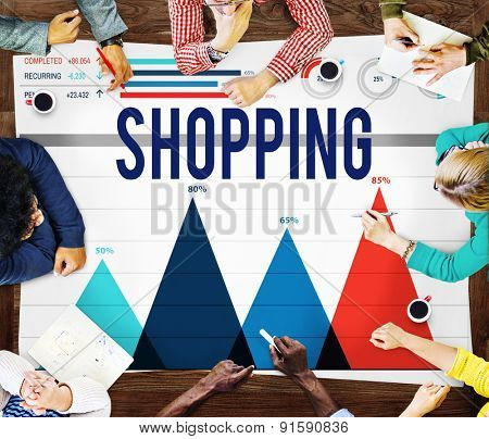 Shopping Purchase Marketing Buying Sales Concept