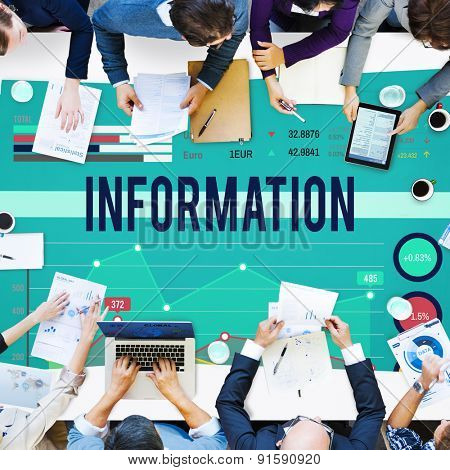 Information Data Info Fact Technology Concept