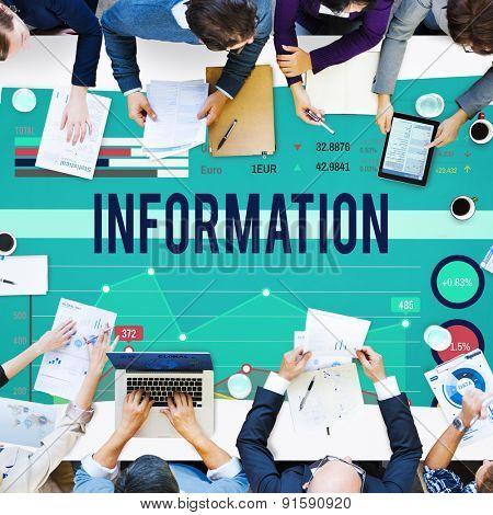 Information Data Info Fact Technology Concept